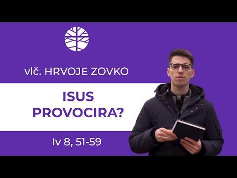Provocira li Isus?
